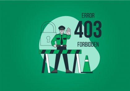 خطای forbidden 403