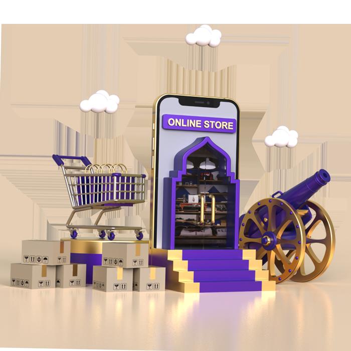 تصویر فروشگاه اینترنتی